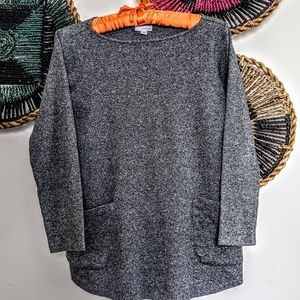 3/$32 J Jill Pure Jill Sweater w Pockets
